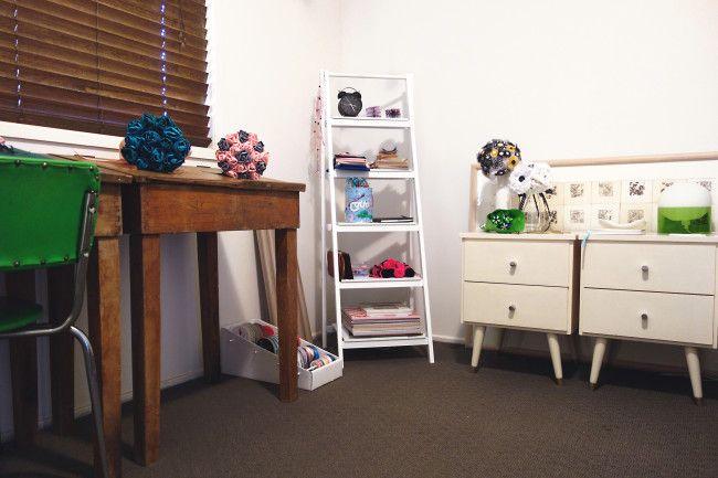 Threefold craft room