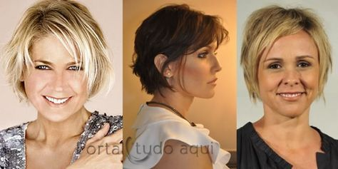 dicas de corte penteados e cuidados para cabelo fino-corte-curto-bob