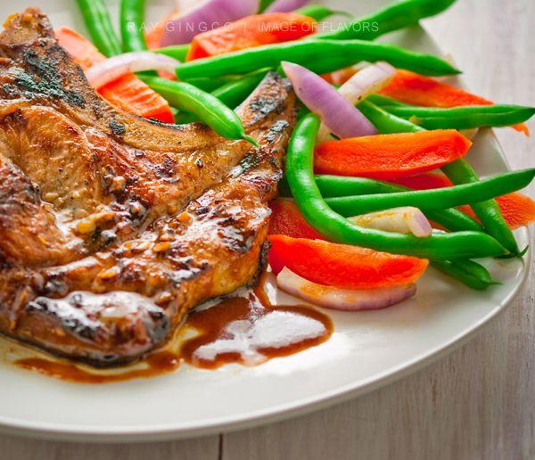 Sweet & Garlicky Pork Chops | Recipe