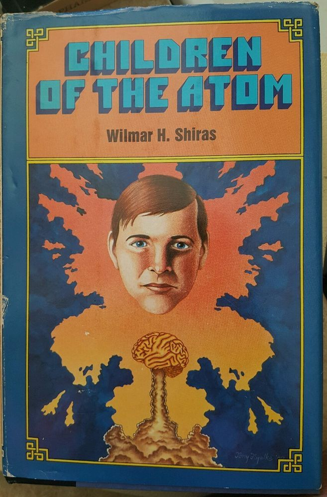 Children of the Atom Wilmar H Shiras Vtg Science Fiction Book Club  edition hc