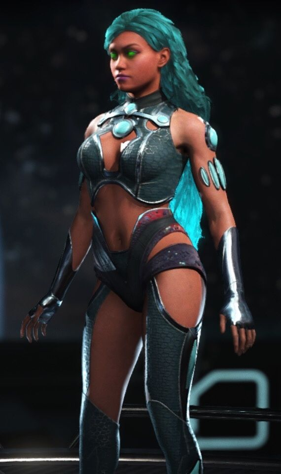 Injustice 2 Starfire Wearing The Emoticlone Craziness Shader Very Good Character I Love Her Shaders The Emoti Dc Injustice Injustice 2 Characters Superhero