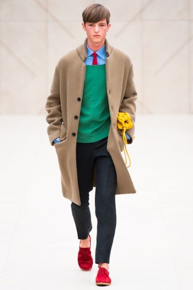 Sfilata Burberry Prorsum Milano Moda Uomo Primavera Estate 2014 - Vogue
