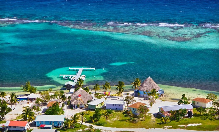 Groupon - Four- or Seven-Night Stay with Meals and Snorkeling or Dive Trips at Blackbird Caye Resort in Turneffe Atoll, Belize. Groupon deal price: $899.00