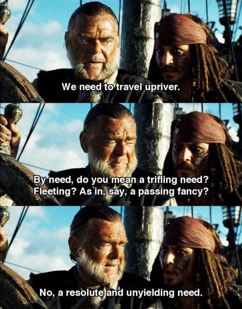 Pirates of the Caribbean #2: Mr. Gibbs and J. Sparrow