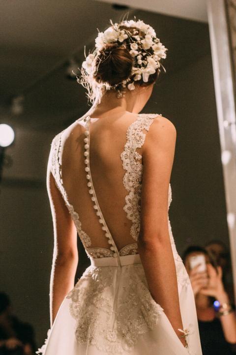 NY Bridal Fashion Week Fall 2015 / Wedding Style Inspiration / LANE