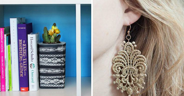 16 Totally Lovely Lace DIYs You'll Want To Try Right Now