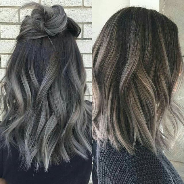 Best 25 ash highlights ideas on pinterest ashy blonde ash brown ombre highlightshair pmusecretfo Gallery