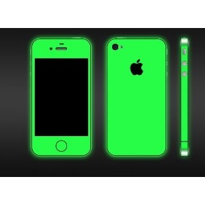 glow in the dark iphone skin: Iphone Cases, Iphone 4S, Glowinthedark, Iphone Skin, Full Body, 4S Glow, Glow In The Dark, Dark Iphone, Products