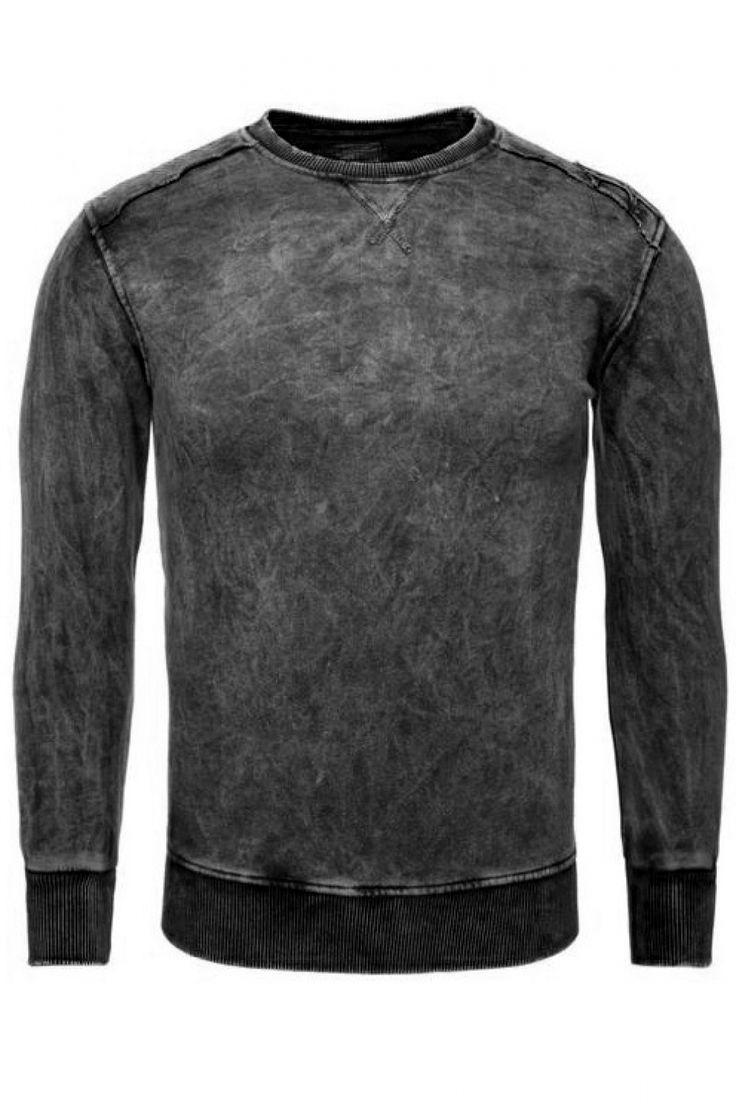 Fantastic Bluza Męska Model 16869 Black - YourNewStyle
