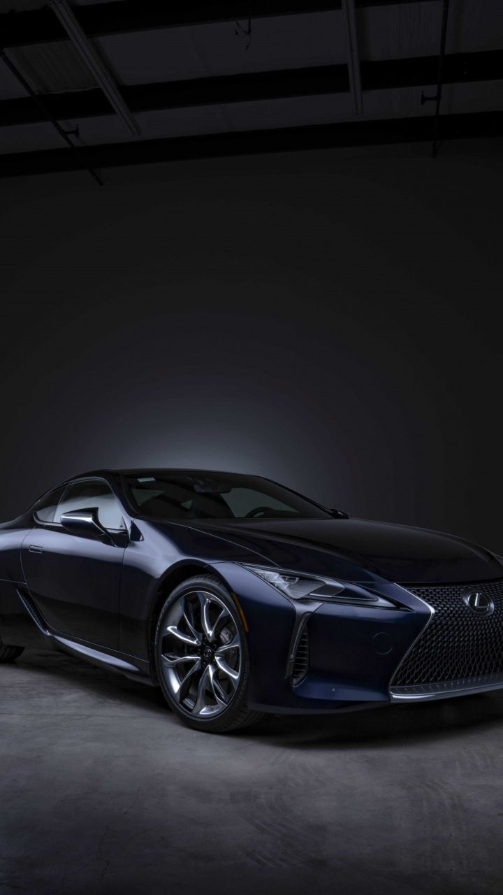Lexus Black Panther Lc 500 Front 720x1280 Wallpaper With Images