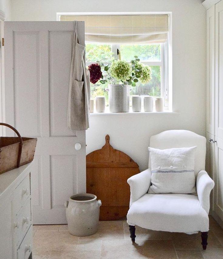 White on white farmhouse style