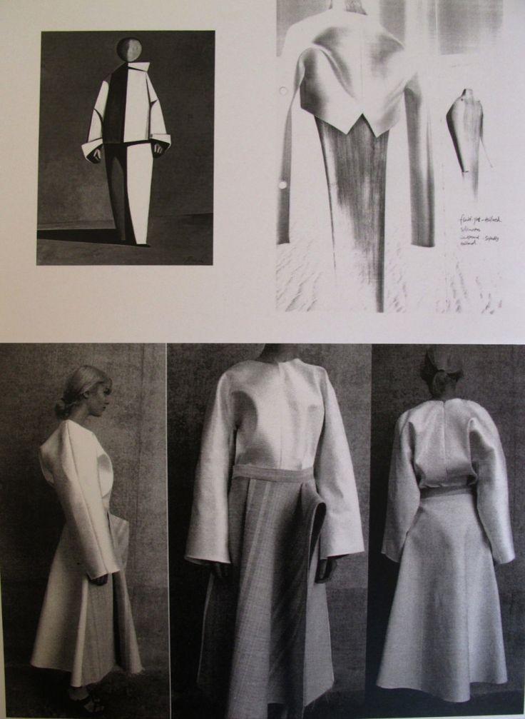 Fashion Sketchbook - graduate fashion portfolio; fashion design development // Ming Ma