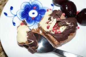 Lækker og sund Nougat is - uden sukker, gluten eller laktose