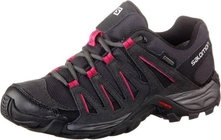 0887850849542 | #Salomon #Tasman 2 #GTX #Wanderschuhe #Damen #schwarz/pink