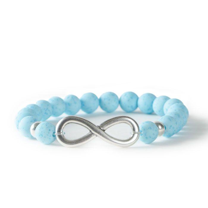 Infinite love for Polaris gala sweet Beads! Bracelet with Bracelet Bars and Polaris Beads