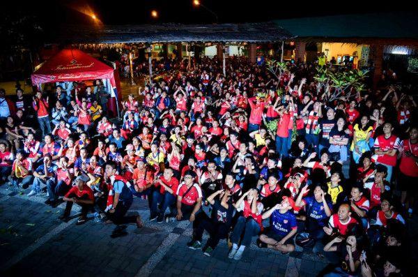 @Jonathan Mokalu  4th Arsenal Indonesia National Gathering | Semarang, Central Java, Indonesia #Arsenal #PinterestMatchday