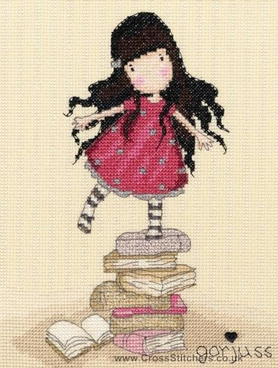 Gorjuss - New Heights - Cross Stitch Kit from Bothy Threads
