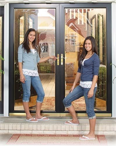 25 best storm doors ideas on pinterest for Double storm doors for french doors