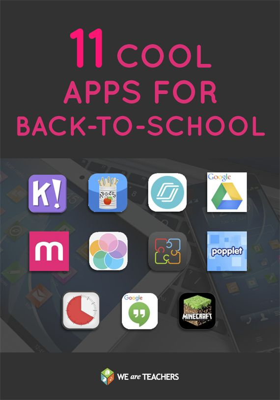 11 Cool Apps for Back to School: Reviews of 11 different apps that you can try in your classroom this year.