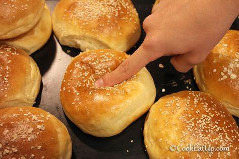 Μαλακά και αφράτα ψωμάκια για πετυχημένα χάμπουργκερ!