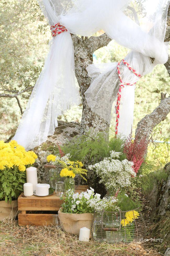 Nice party decoraci n boda al aire libre wedding for Decoracion exterior