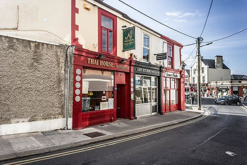 THE TOWN OF DALKEY [ THAI HOUSE RESTAURANT ]-103998 [BY WILLIAM MURPHY]