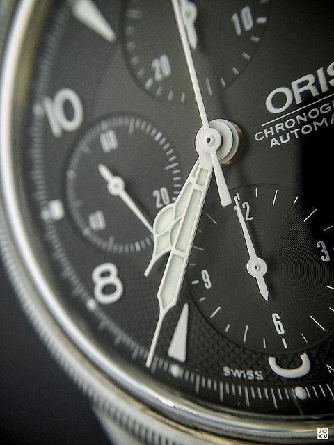 Oris Big Crown Chronograph by Chez Joe, via Flickr