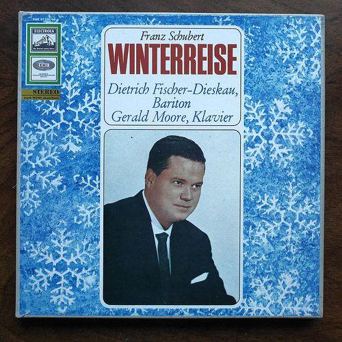 """""""Schubert: Winterreise"""" (Dietrich Fischer-Dieskau) 1958."""