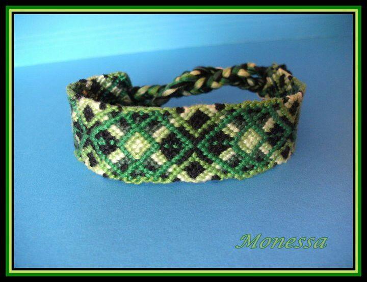 Zöld, zöld, zöld...5 féle zöld! :)