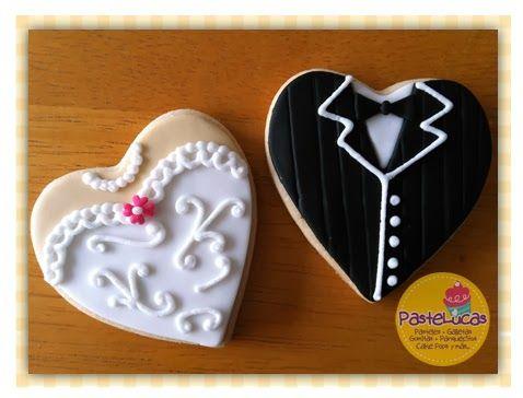 PasteLucas: Bridal Shower cookies