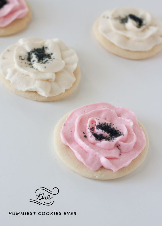 : Best Sugar Cookie Recipe with Buttercream Frosting Recipese Cookies ...