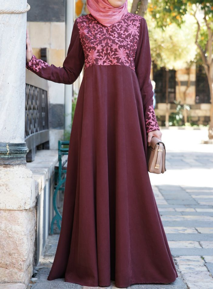 SHUKR USA | Akifa Embroidered Gown