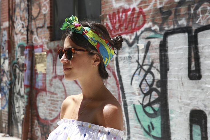 One More Way to Use Your Neck Scarves - Man Repeller