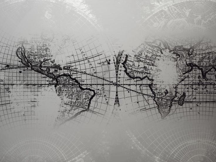 abstract world map - Google Search