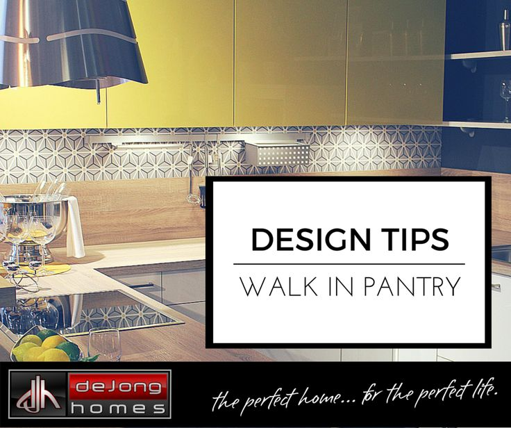 With some clever forward thinking and design, you can maximise the space in your walk in pantry, making it one of the most functional rooms in the house.