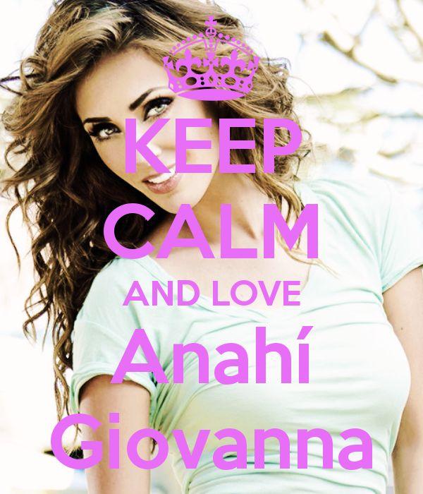 Keep calm: Anahí Giovanna (16)