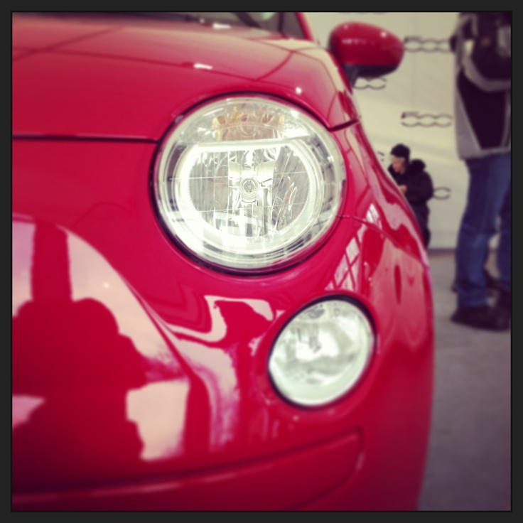 Улыбка Fiat 500