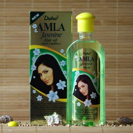 Dabur olejek Amla Jasmine.  Głęboko odżywia włosy i nie zmienia ich barwy, nawet w przypadku włosów bardzo jasnych. Teraz rewelacyjne właściwości owoców amalaki są dostępne także dla blondynek!
