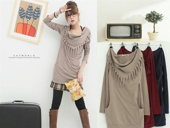 Wholesale new Women s Outerwear 2012 Trench Coats Ladies Coat Clothing blended fabric lapel hat on www.viigoo.com