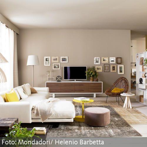 187 besten Wohnzimmer Bilder auf Pinterest Wohnen, Teppich gelb - wohnzimmer beige blau