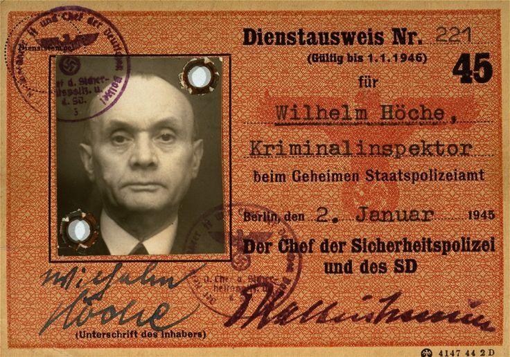 Gestapo pass