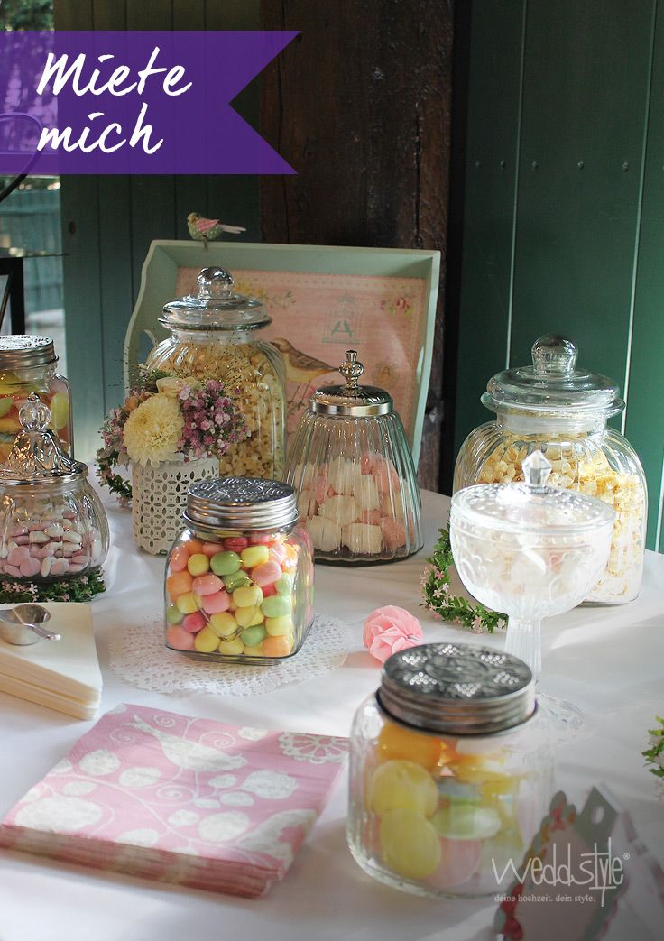 48 best candy bar hochzeit images on pinterest dessert. Black Bedroom Furniture Sets. Home Design Ideas