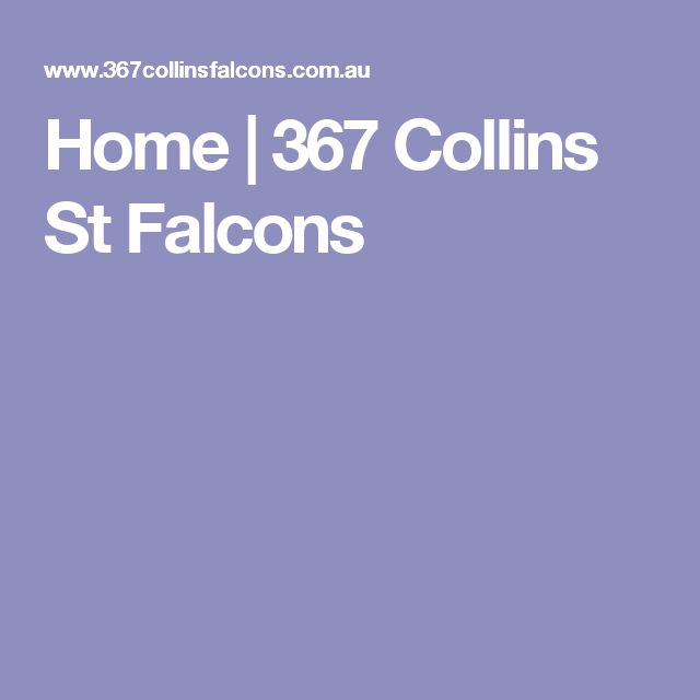 Home | 367 Collins St Falcons