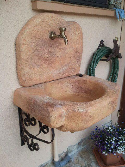 lavello giardino pietra : 1000 idee su Lavello Da Giardino su Pinterest Lavello Da Giardino ...