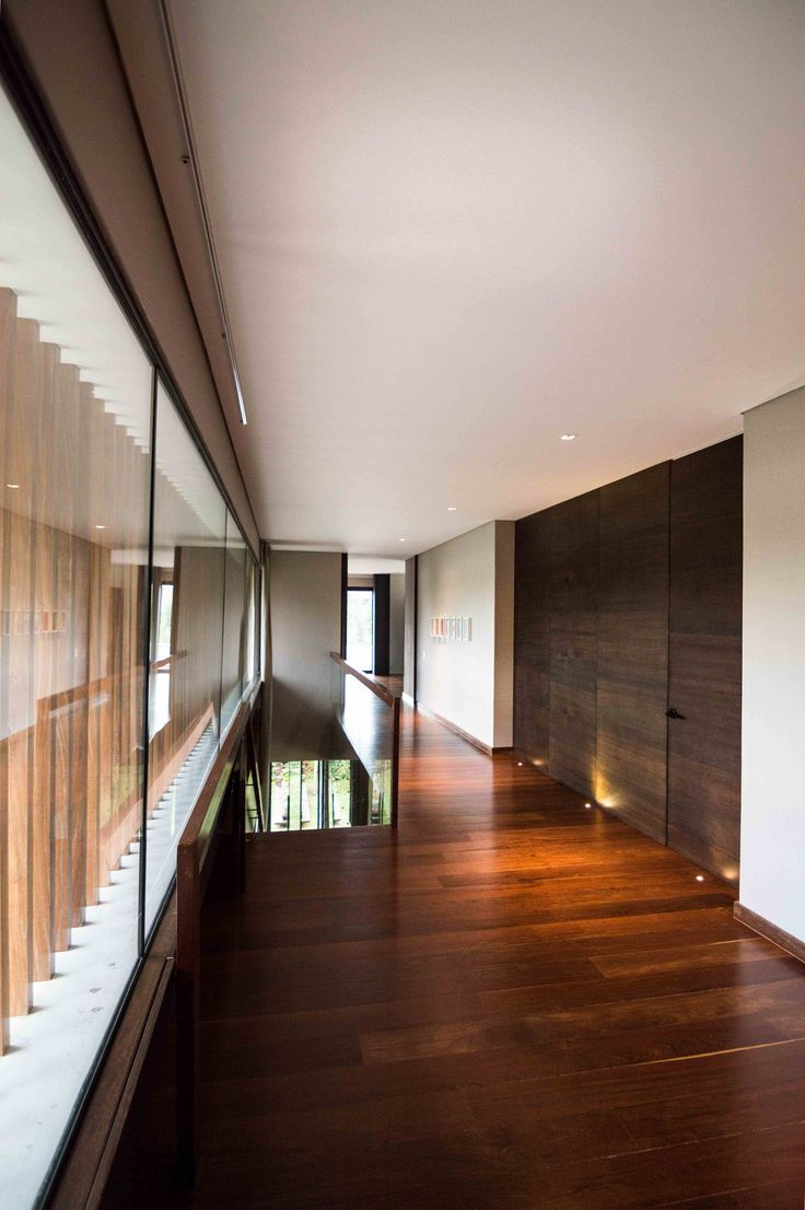 Casa Mejía_Corredor habitaciones.  Registro Fotográfico para Grupo Q. Diseño: Arq. Camilo Mejía Bravo.  Medellín, Col.