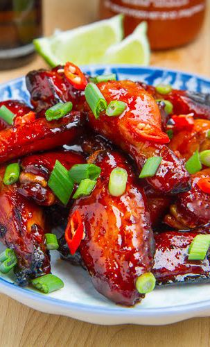Vietnamese Style Caramel Chicken Wings Recipe