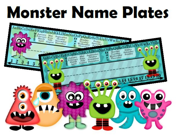 Welcome your kids back to school with these great student name plates.  Hopefully you'll find these name plates useful not only for classroom management but use them to create a great learning environment in your class.