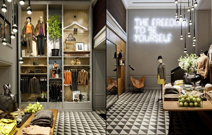 Marc OPolo flagship store, Munich store design