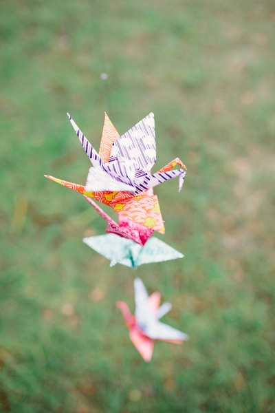 origami: Bride A Focal, Paper Cranes, Weddings, Patience, Focal Point, Wedding Details, Inconsequential Details
