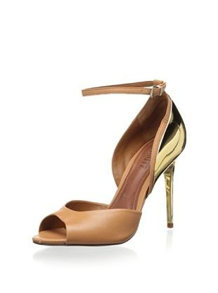 50% OFF Schutz Women's Carolyn Open Toe Ankle Strap Sandal (Lightwood)